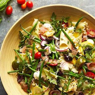 Mandarin Pasta Spinach Salad.