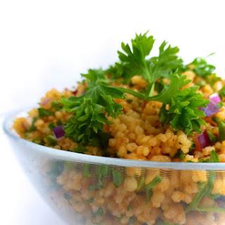 Turkish Couscous Salad Recipe (Kisir)