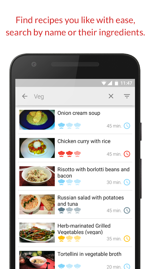 Tasty Recipes!- screenshot