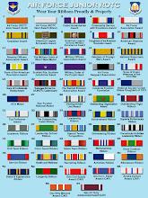 Photo: AFJROTC, Ribbon Chart, Update, NOV,  2010