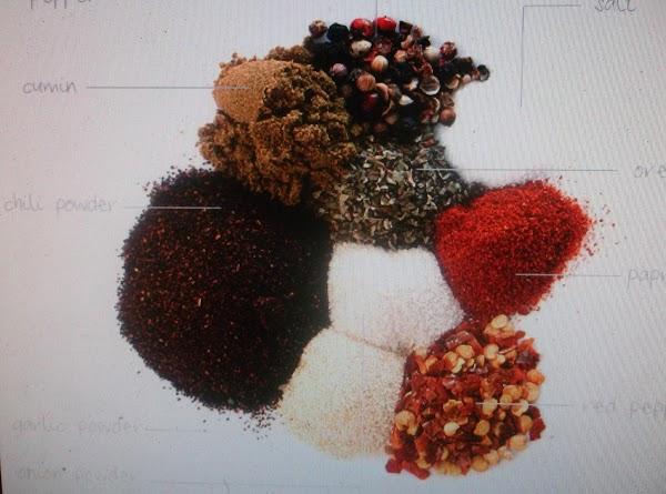 Chili Seasoning Mix By Eddie Recipe
