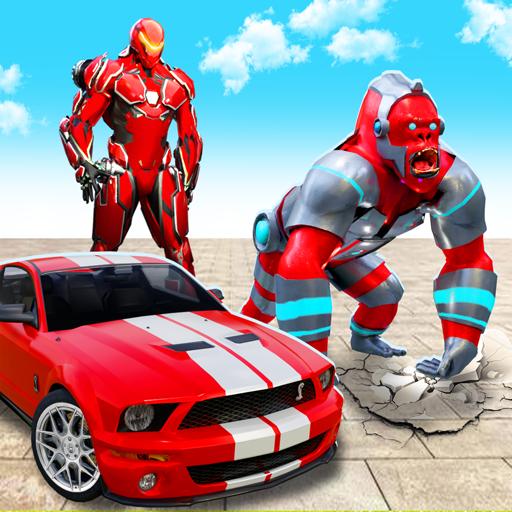 Monster Gorilla Rampage City Attack: Animal Sim