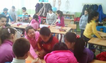 Photo: Realizamos en clase los murales, no podemos olvidarnos de ningún dibujo.