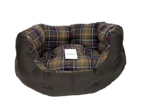 """Barbour Wax Cotton Dog Bed 24"""""""