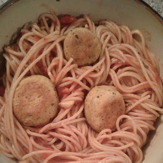 Vegan Seitan Meatballs.