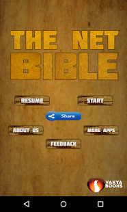 The NET Bible- screenshot thumbnail