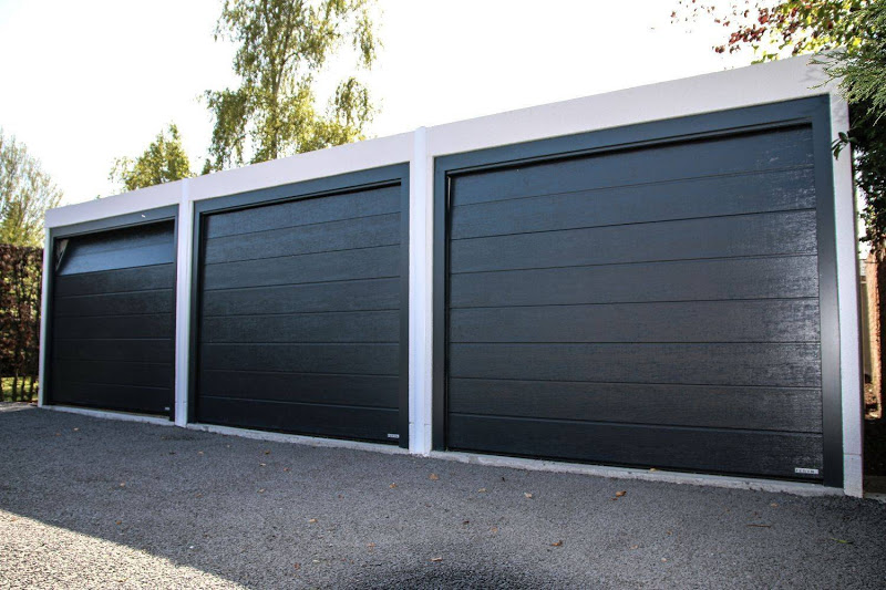 Betonnen garagebox