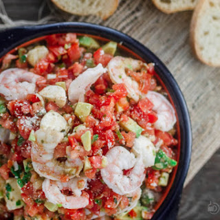 Shrimp Bruschetta