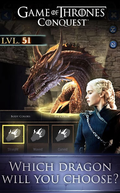 Game of Thrones: Conquest™ Android App Screenshot