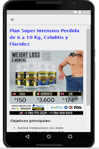 Pierde Peso Rapido screenshot 5