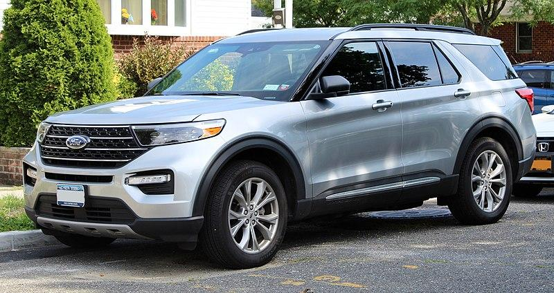 File:2020 Ford Explorer XLT, front 9.7.20.jpg