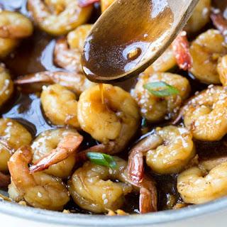 Easy Teriyaki Shrimp.