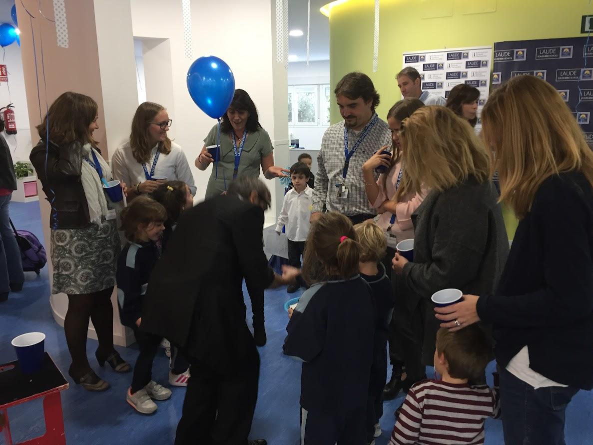 Mago Madrid Laude Fontenebro School 2016 04