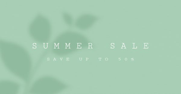 Summer Sale Savings - Facebook Event Cover Template