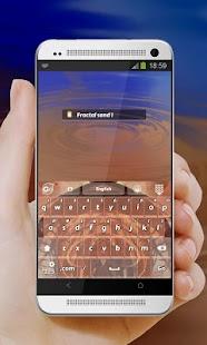 Desert Dream GO Keyboard - screenshot thumbnail
