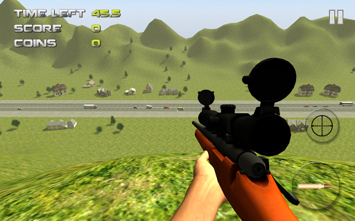 Sniper: Traffic Hunter screenshot 1
