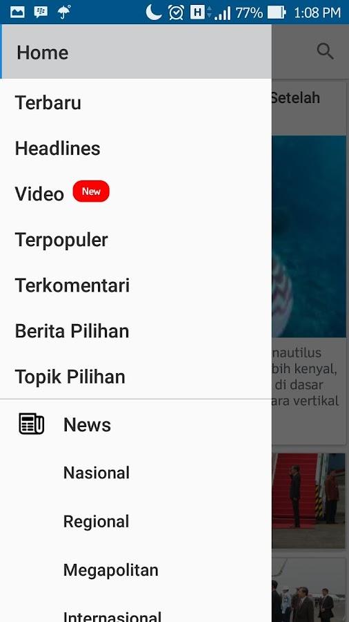 Kompascom- screenshot