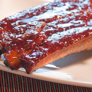 Blackberry Jalapeno BBQ St.Louis Spare Ribs.