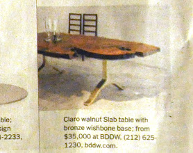 Photo: http://dorsetcustomfurniture.blogspot.com/2013/03/how-much-does-claro-walnut-slab-table.html
