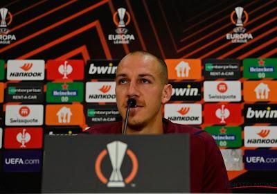 """Ook in Olympiakos kijkt Antwerp naar Michael Frey: """"Hopelijk blijft dit nog even duren"""""""