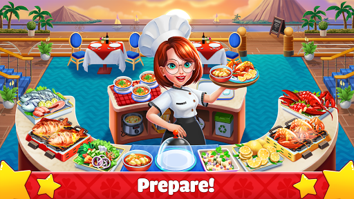 Crazy Cooking: Craze Fast Restaurant Cooking Games  captures d'écran 1
