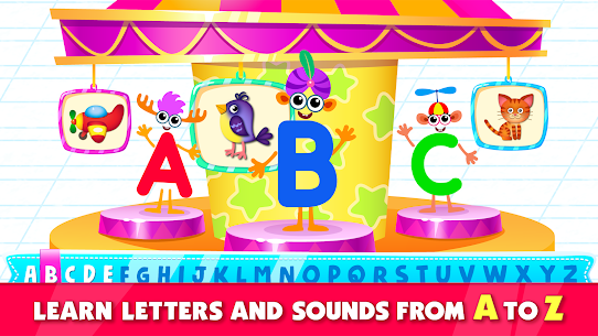 Bini Super ABC! Preschool Learning Games for Kids! 1