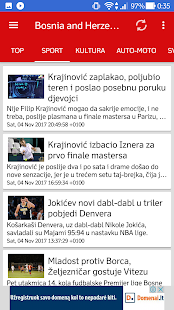 Bosnia&Herzegovina News and Radio (Novosti) - náhled