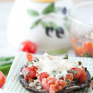 Portabella Mushroom Bruschetta Pizza
