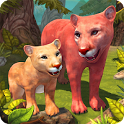 Mountain Lion Family Sim : Animal Simulator