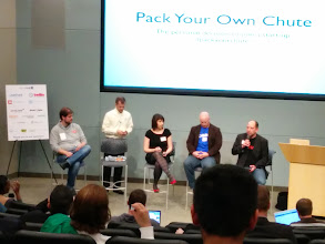 Photo: Attending +Elizabeth Tupper's class - Pack Your Own Chute - at #minnebar