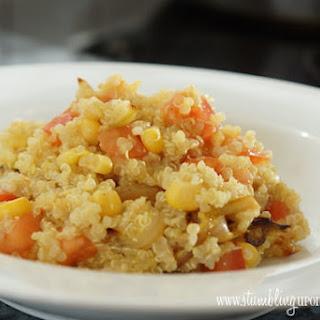 Indian-Spiced Quinoa Salad.