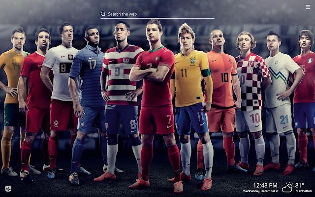 FIFA World Cup HD Wallpaper New Tab Theme