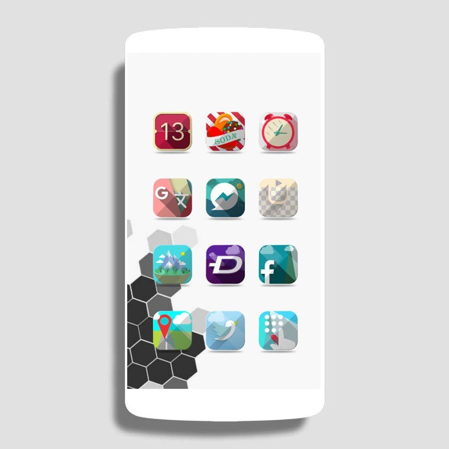 Destiny Nougat - icon pack Themes icon pack ios11- screenshot