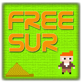 Freesur 8 bit retro game