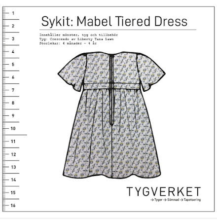 Sykit: Mabel Tiered Dress + Crescendo