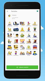 Los Fansimpson Stickers Screenshot