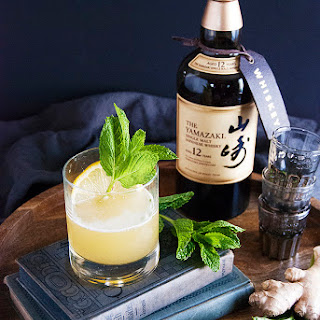 A Japanese Whisky Cocktail.