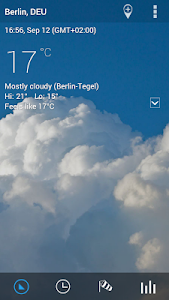 Transparent clock & weather screenshot 16