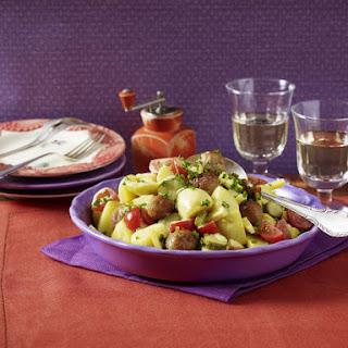 Meatball and Potato Salad.