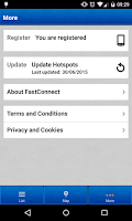 Screenshot of FastConnect - WiFi made easy