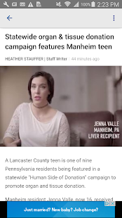 LancasterOnline- screenshot thumbnail