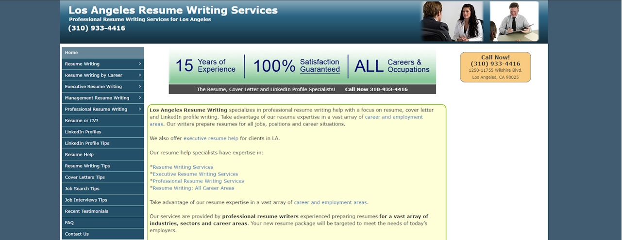 Best resume writing service in los angeles