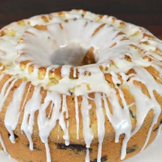 Sour Cream Blueberry and Lemon Pound Cake Recipe