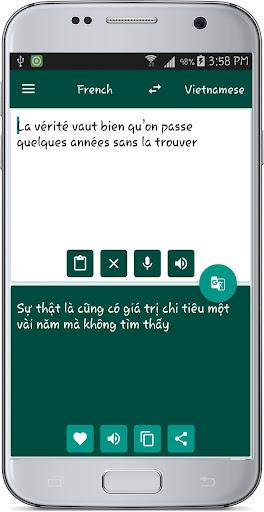 French Vietnamese Translate 1.1 screenshots 9
