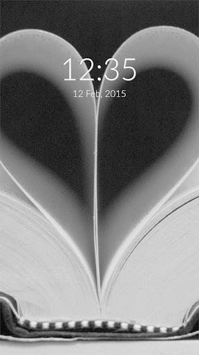 Book Love Wall Lock