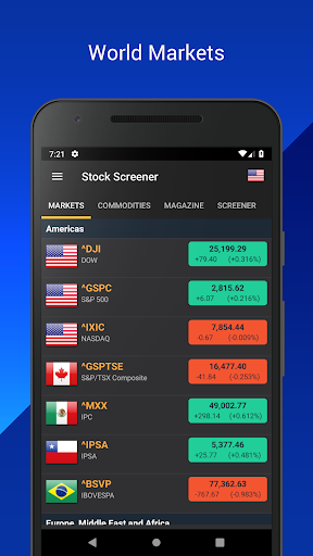 Stock Screener: Find Stocks (Stock Markets) screenshot for Android