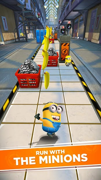 Minion Rush: Despicable Me Official Game Android App Screenshot