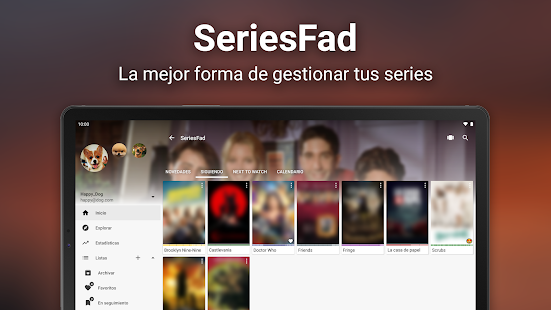 SeriesFad - Tu gestor de series Screenshot