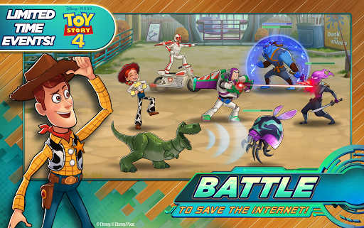 Disney Heroes: Battle Mode - screenshot