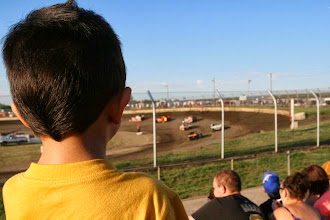 Photo: It was my first car race. Unless you count drag-racers on H-1.